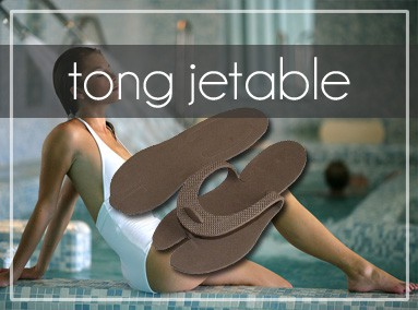 Tongs jetables