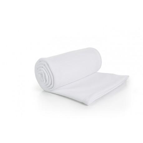 Couverture Polaire Blanc